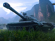 World of Tanks - Russischer Panzer 121
