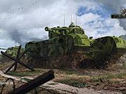 World of Tanks - Englischer Panzer Churchill VII