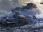 World of Tanks - Russische Panzer KV-1 und T-34