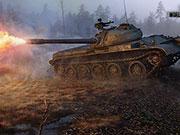World of Tanks - Russischer Panzer T-54